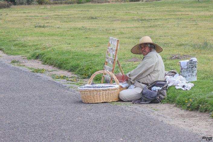 Le vendeur de breloques - Teotihuacán, Mexique