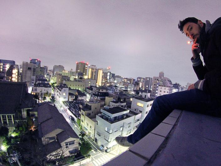 Escalade - Tokyo, Japon