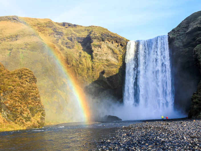 is this heaven ? - Skogafoss, Islande by sineyes