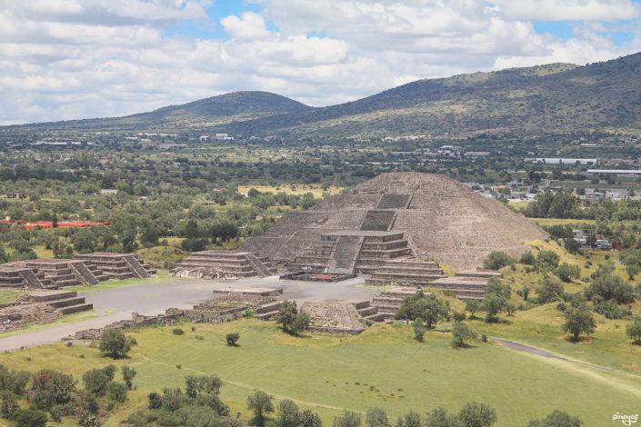 Moon pyramid - Teotihuacán, Mexique