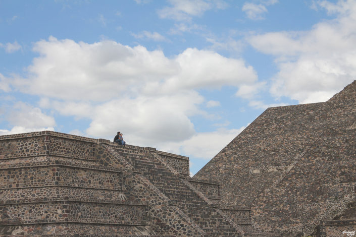 Seuls au monde - Teotihuacán, Mexique