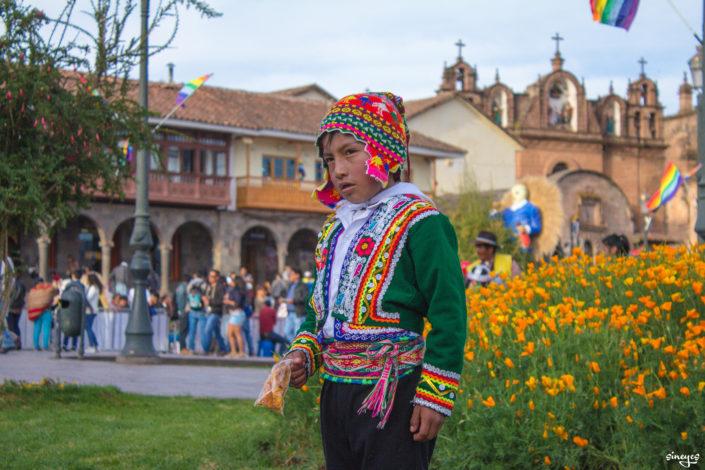 Caballero - Cuzco, Pérou