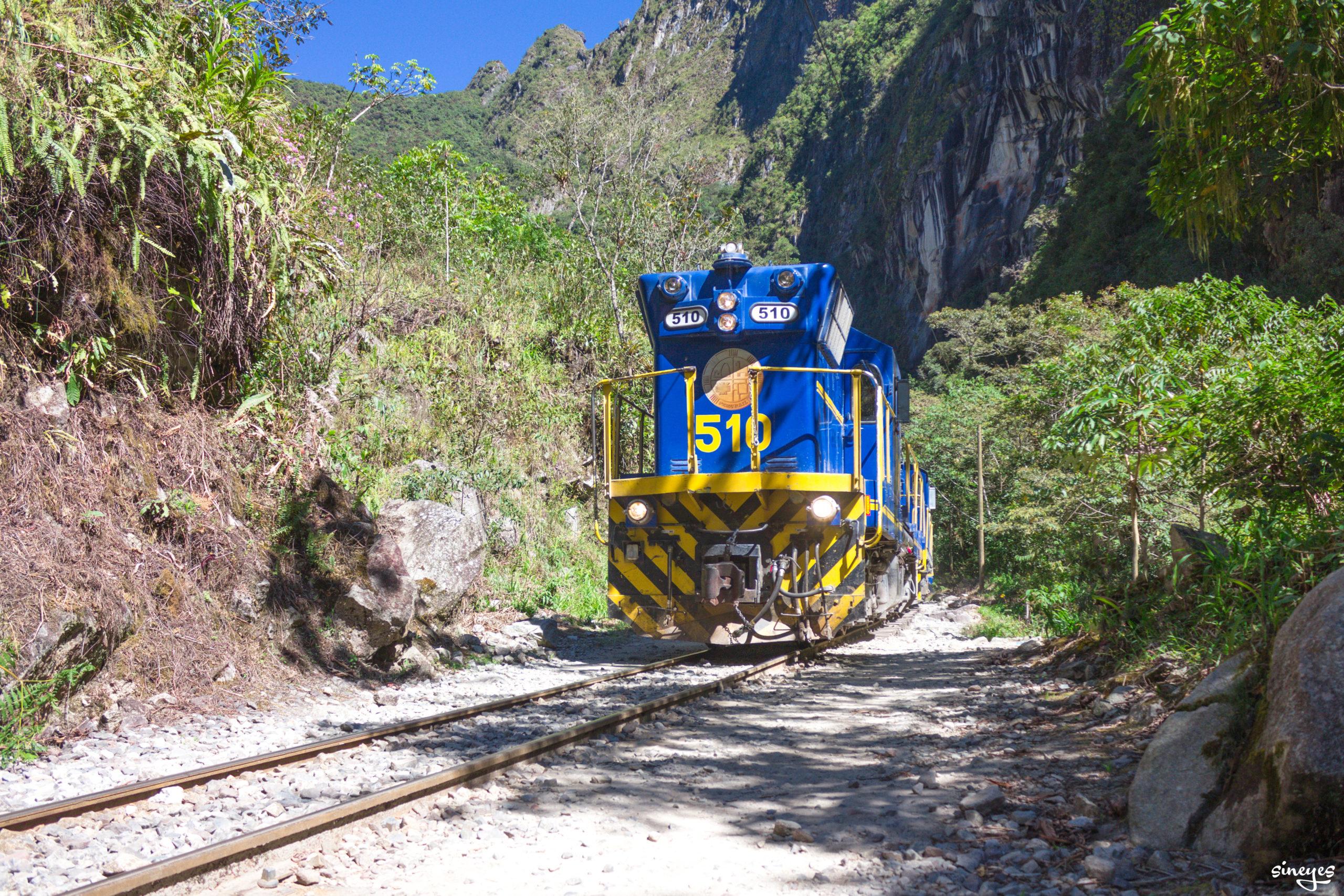 Loco 510 - Aguas Calientes, Pérou