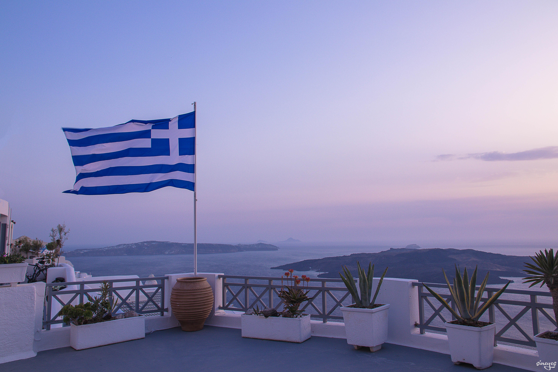αντίο - Imerovigli, Santorin, Grèce