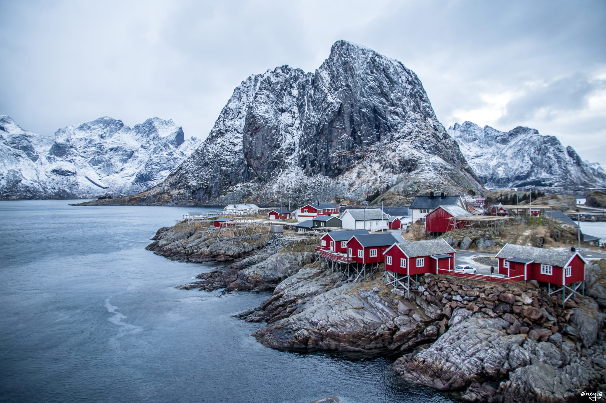 Jour - Hamnoy, Norvège by sineyes