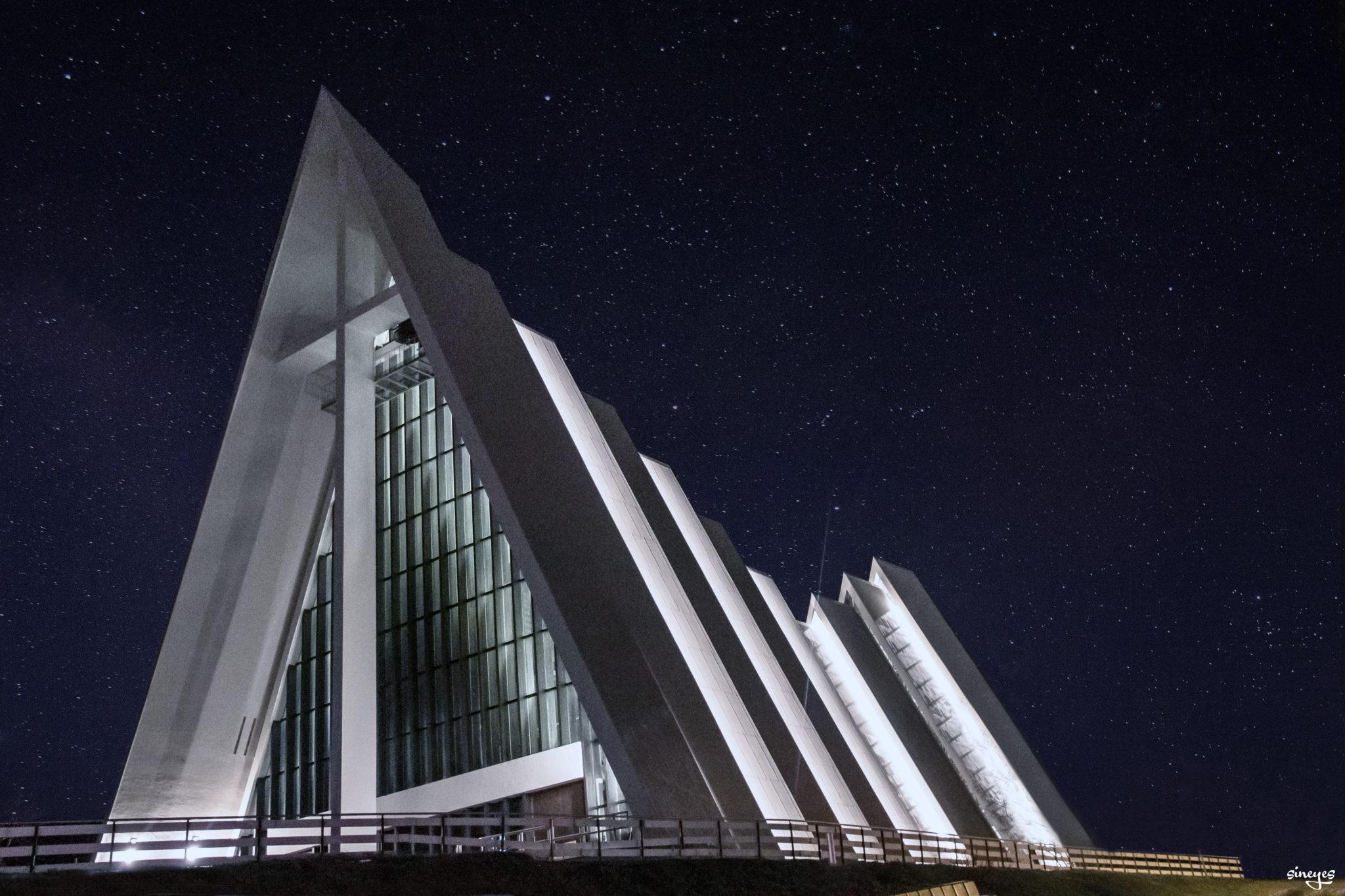 La cathédrale arctique - Tromso