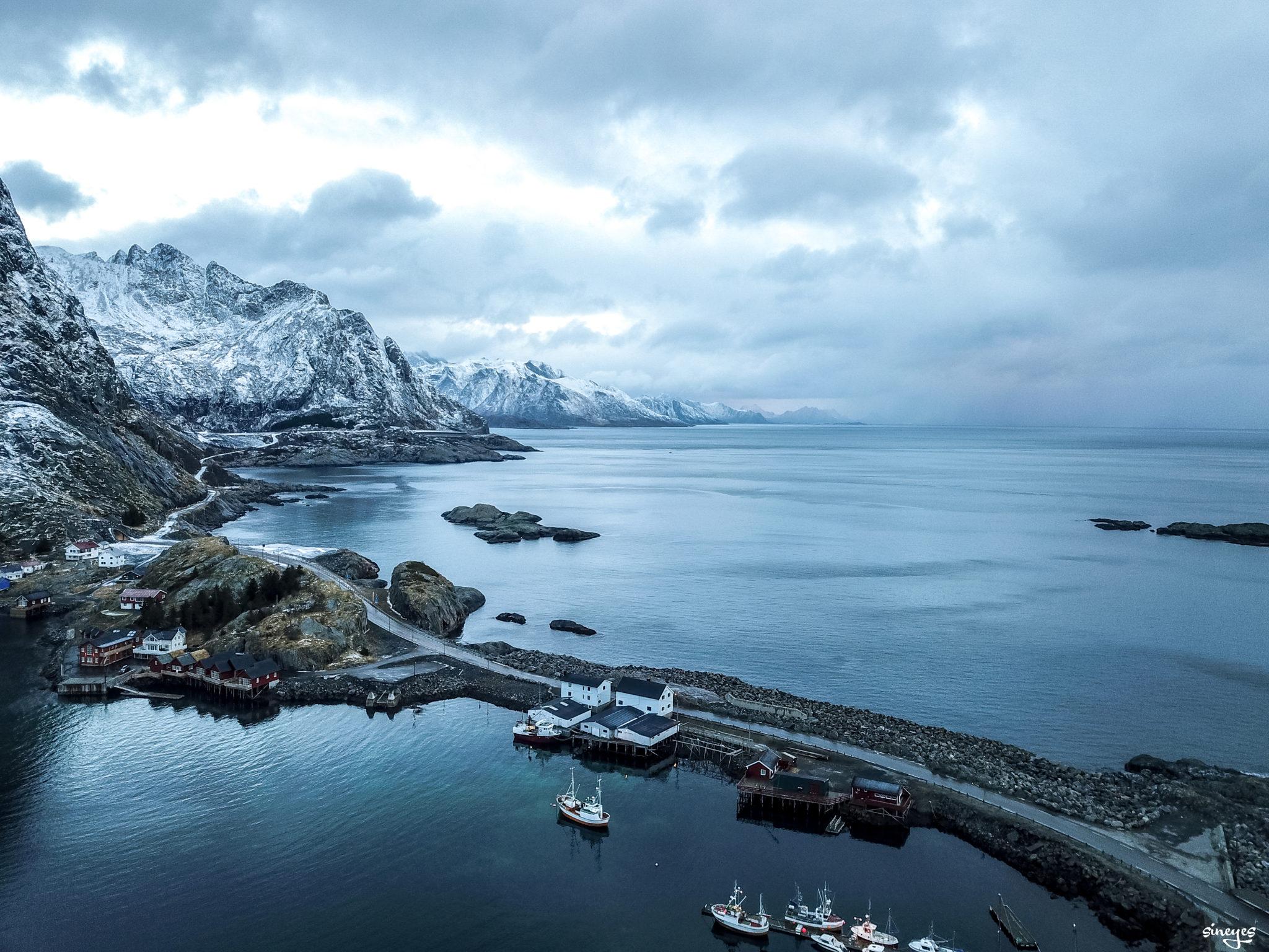 Froid - Iles lofoten, Norvège by sineyes