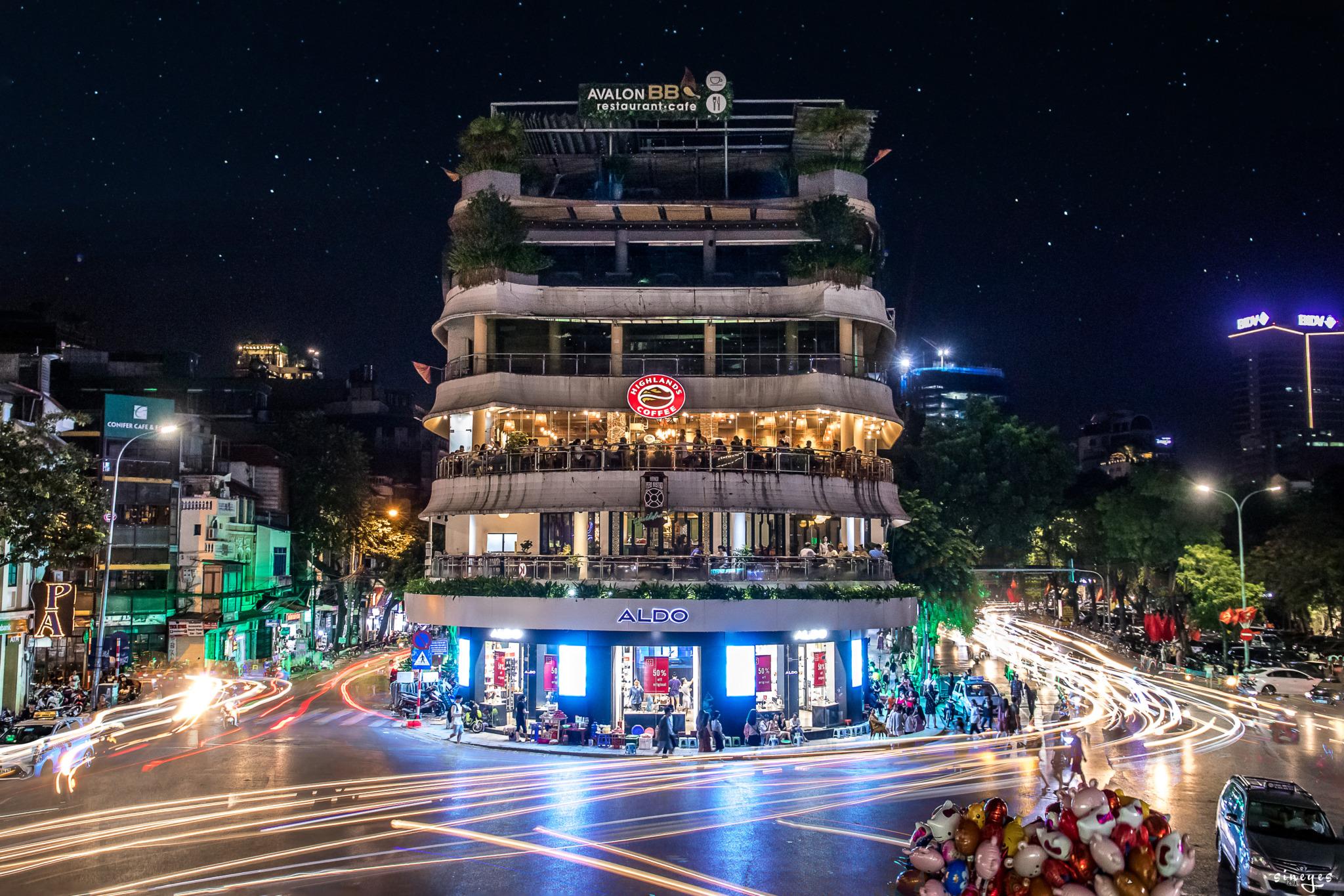 Old quarter's lights by sineyes