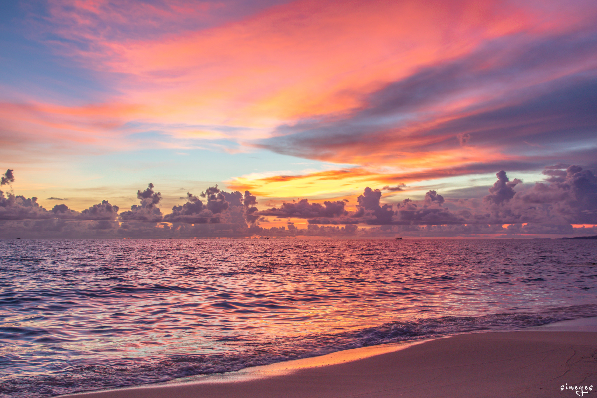 Phu Quoc sunset by sineyes