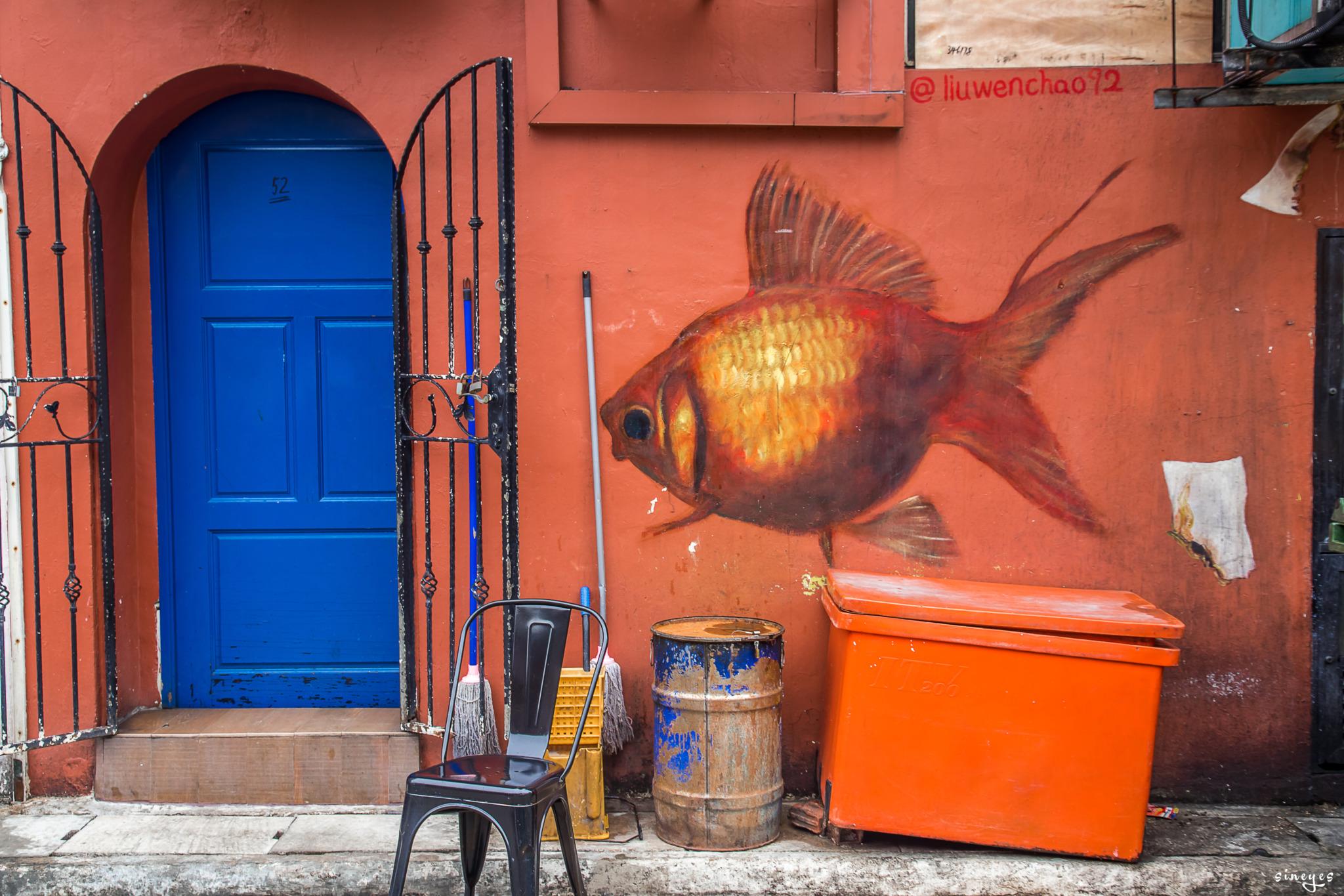 Street goldfish by sineyes